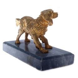 """Bronzas skulptūra """"Suns"""""""