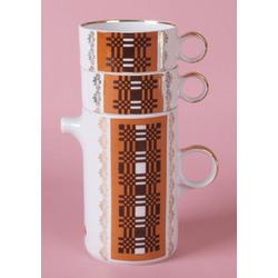 Porcelāna komplekts tējas dzeršanai