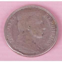 Sudraba pieclatnieka monēta