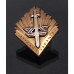 Latvijas Zemesardzes krūšu zīme