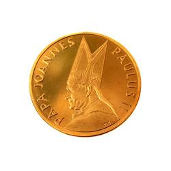 """Medaļa kapsulā """"Papa Joannes Paulus II"""""""