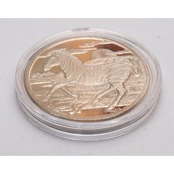 Republik of Sierra Leone dolārs ar zebru