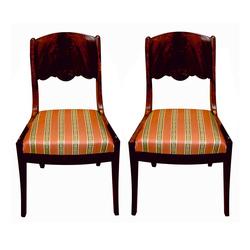 Sarkankoka krēsli 2 gab.
