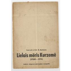 """Grāmata """"Lielais Mēris Kurzemē (1709-1711)"""""""