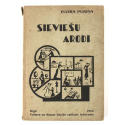 Grāmata Elvīra Puriņa Sieviešu Arodi