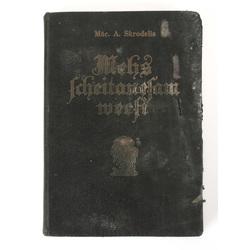 Grāmata Māc. A. Skrodelis