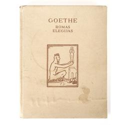 Grāmata Gēte Romas elēģijas