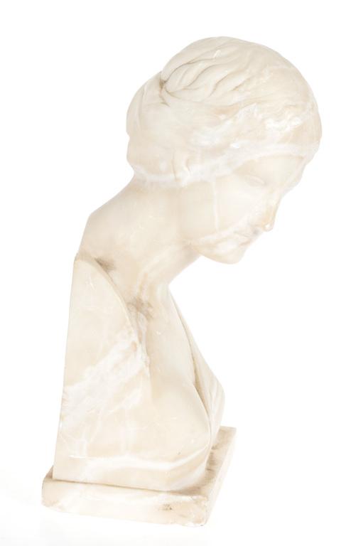 Alibaster bust