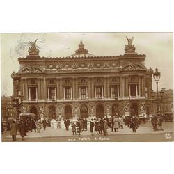 """Atklātnīte """"Parīzes opera"""""""
