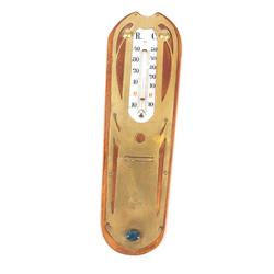 Jūgendstila sienas termometrs