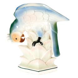 "Porcelāna figūra-vāze ""Papagailis"""