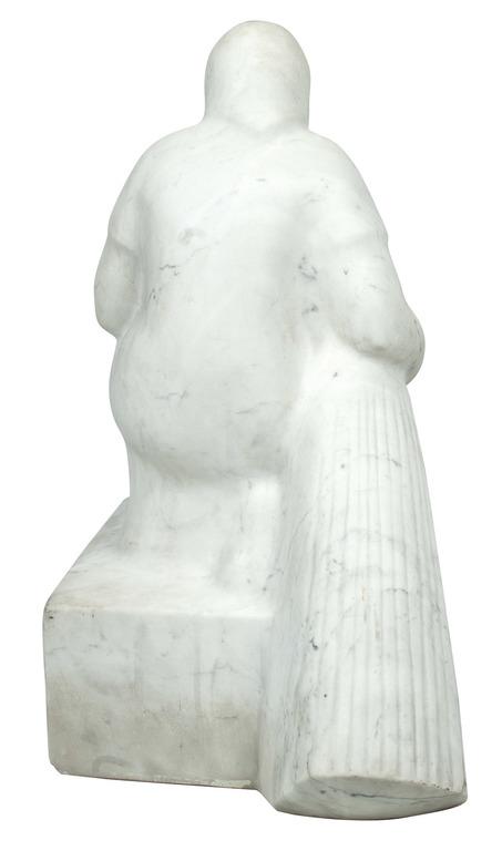 """Marmora skulptūra """"Ražas novācēja"""""""