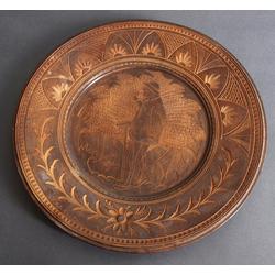 Koka šķīvis