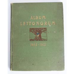 """Grāmata """"Album Lettonorum 1882-1912"""