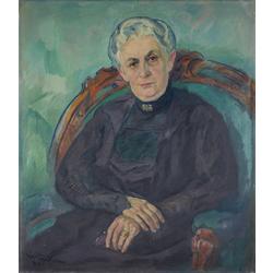Minnas Rēberes kundzes portrets