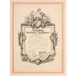 Lāčplēša kara ordeņa 3. šķiras diploms