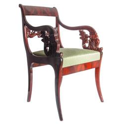 Bīdermeijera stila sarkankoka krēsls