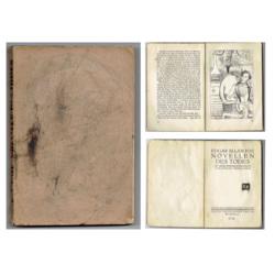 """Grāmata, kas savulaik piederējusi K.Ubānam """"Edgar Allan Poe Novellen Des Tode"""""""