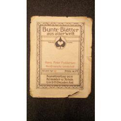 """Reprodukcijas albuma vāks """"Bunte Blatter aus aller Welt"""""""