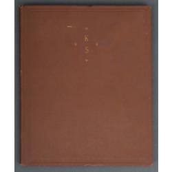 """Grāmata """"Svētku raksti"""" kopā ar grāmatas pasūtītāju sarakstu"""