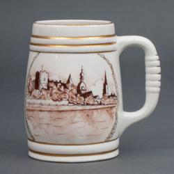 """Porcelāna alus kauss """"Rīga"""""""