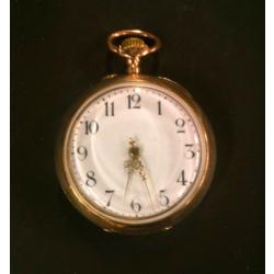 Sieviešu zelta kabatas pulkstenis