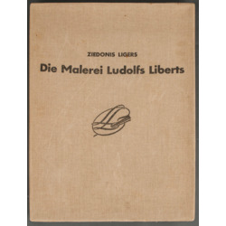 "Grāmata ""Ludolfs Liberts Die malerei"""