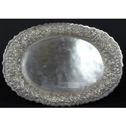 Sudraba paplāte-šķīvis