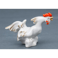 Porcelain figure 'Rowdy Rooster'