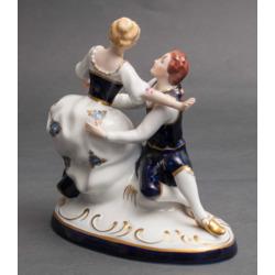 """Porcelāna figūra """"Iemīlējušies"""""""