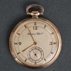 Zelta kabatas pulkstenis