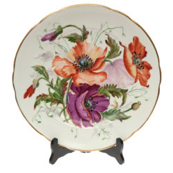 """Dekoratīvais porcelāna šķīvis """"Magones"""""""