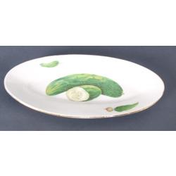 """Porcelāna servējamais šķīvis """"Gurķi"""""""