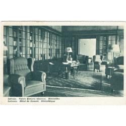 """Atklātne """"Latvija. Valsts Ķemeru viesnīca. Bibliotēka"""""""