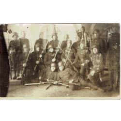 """Atklātnīte """"Latvijas armijas karavīri"""""""