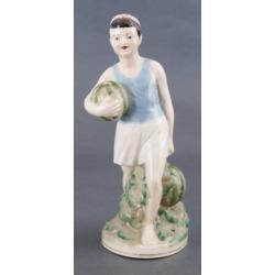 """Porcelāna figūra """"Zēns ar arbūziem"""""""