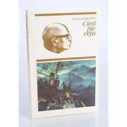"""Grāmata """"Cieši pie vēja. Eduarda Kalniņa portretējums"""""""
