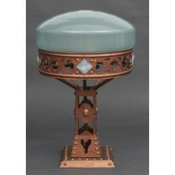 Jūgendstila galda lampa