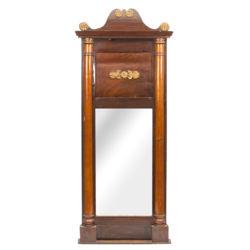 Зеркало с дерева отделка