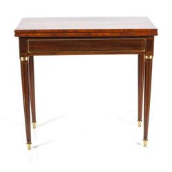 Klasicisma stila spēļu galdiņš