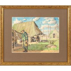 Armijas nometnē Šenbergā