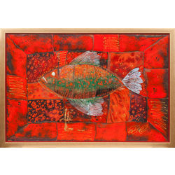 Sarkanās jūras sarkanā zivs