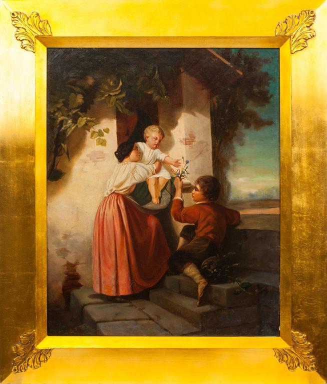 Māte ar bērniem
