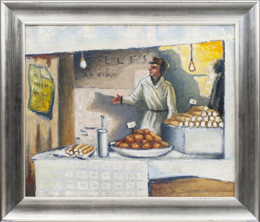 Pārdevējs Rīgas tirgū