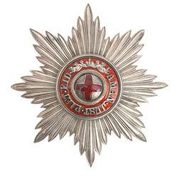 Imperatoriskais Sv. Annas ordenis uz sudraba zvaigznes