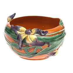 Porcelain vase 'Flowers'