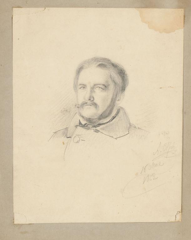 Komponista Gļinkas portrets