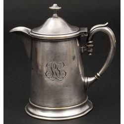 Apsudrabota metāla kafijas kanna