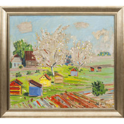 Divpusēja glezna - Venēcija/Bišu drava