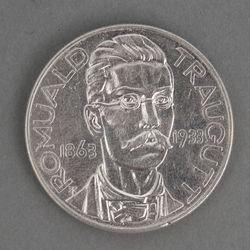 Sudraba 10 zlotu monēta Romuald Traugutt (1963-1933)